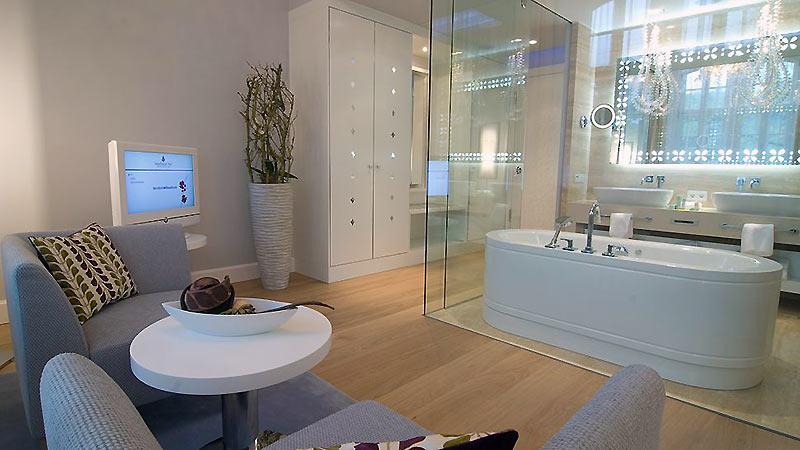 Ванная стеклянная комната гидроизоляция рулонная ванной комнаты