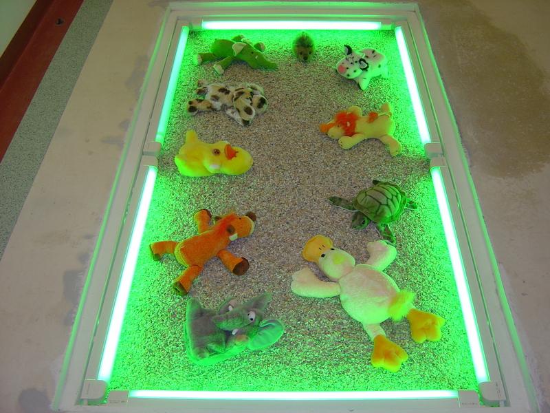 Сухой аквариум в полу своими руками 27